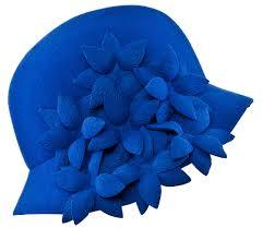 Auntie Kitty's Blue Hat