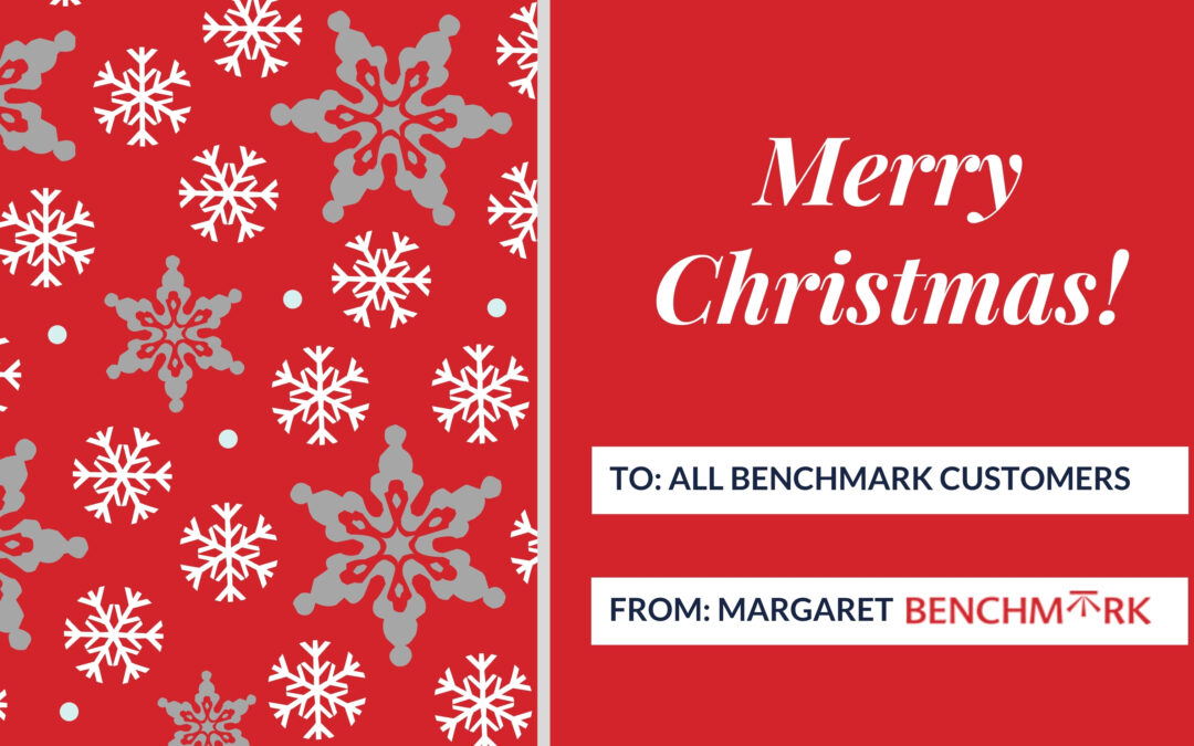 Happy Christmas from Benchmark